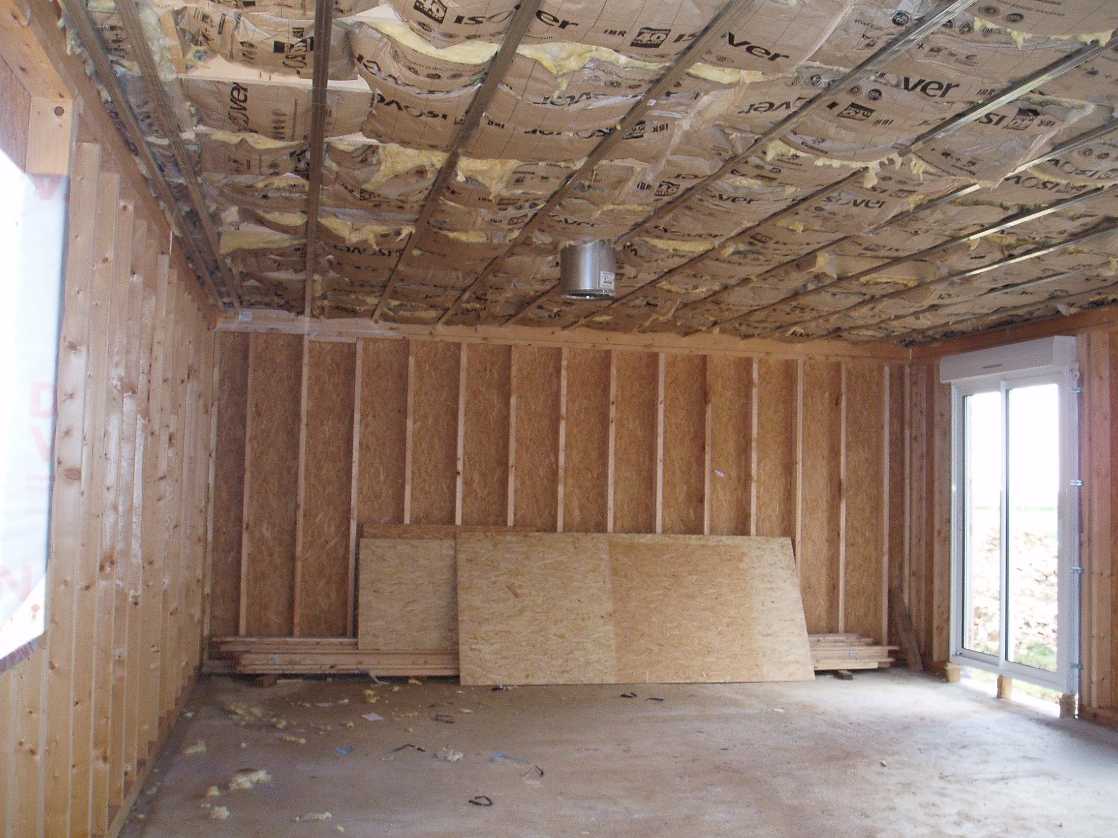 i travaux d interieur archive at notre cabane en bois. Black Bedroom Furniture Sets. Home Design Ideas